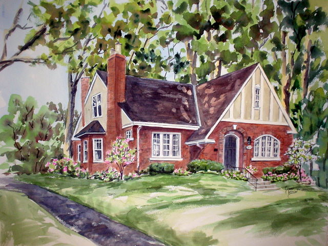 House Paintings jean vance, artist, house paintings, commissions